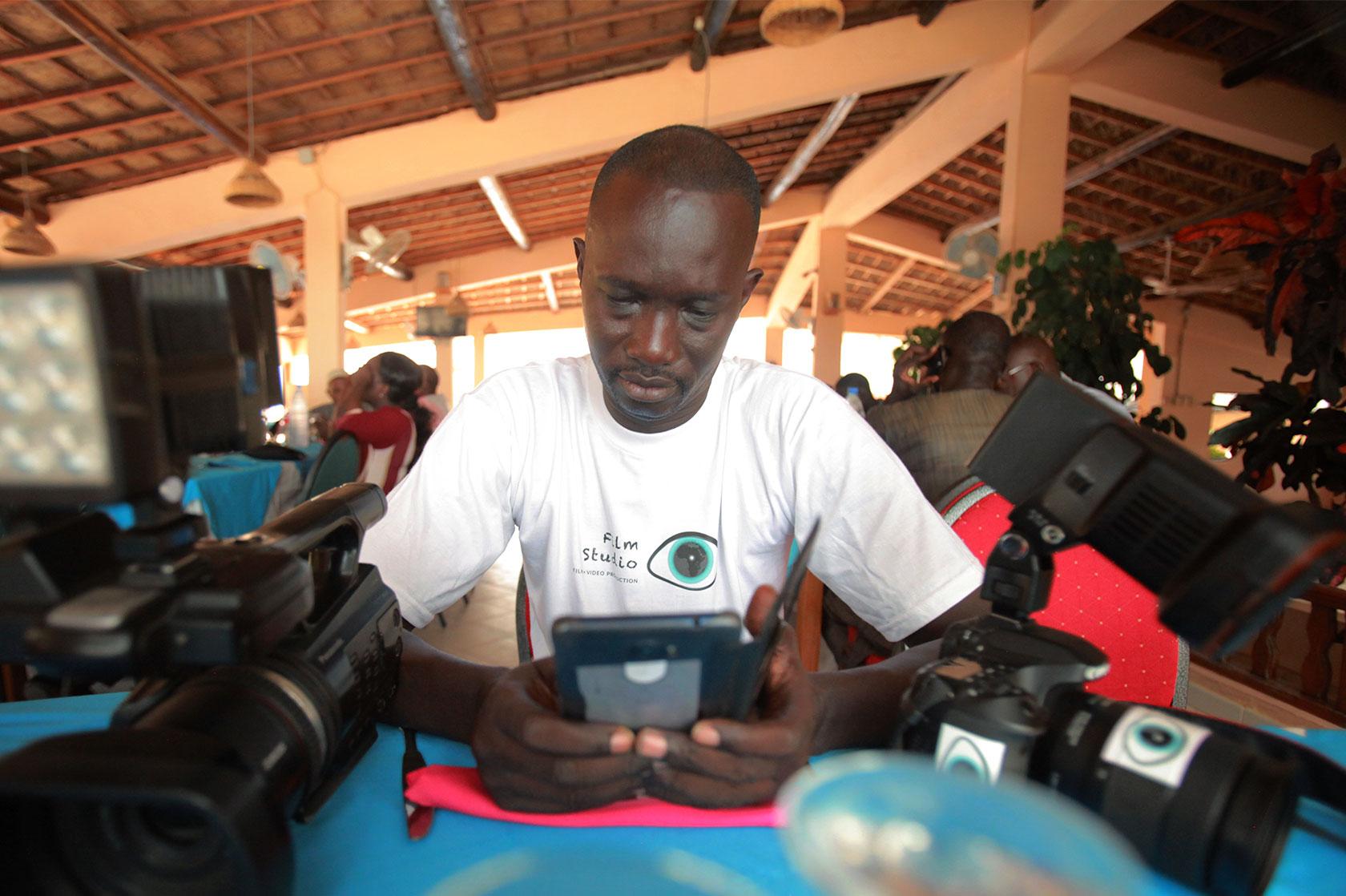 Cameraman Dakar Senegal Madyana-Studio