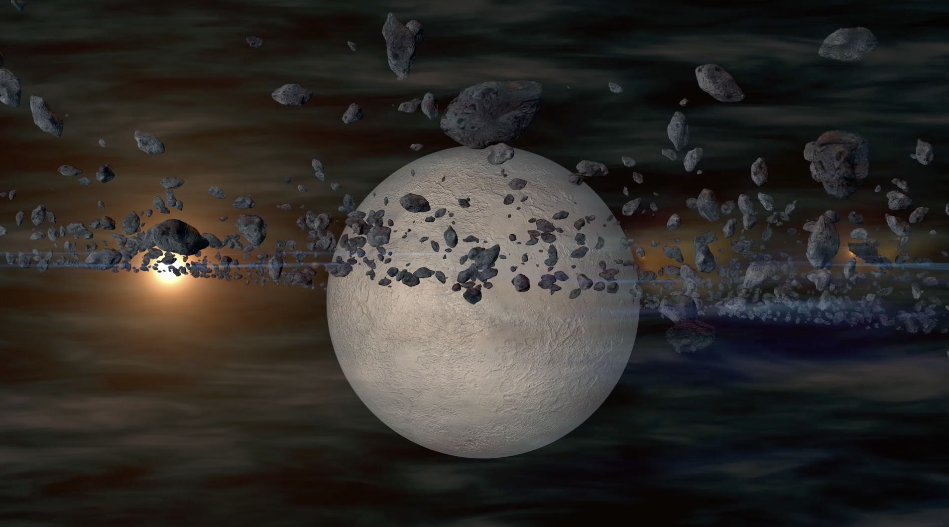 asteroid 3D planet by mnv3D - Portfolio